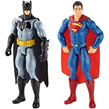 Batman - Pack de 2 figuras, Batman y Superman (Mattel DLN32)