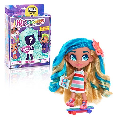 Hairdorables 23600/23690 Collectible Surprise Dolls and Accessories: Series 1 (Styles May Vary), Multicolor