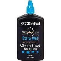 ZEFAL Extra Wet Lube 120 ML-Lubrifiant céramique Premium chaîne vélo-Très Longue durabilité Cyclisme Mixte Adulte, Noir…