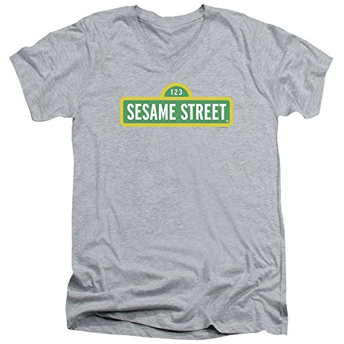 Sesame Street Herren T-Shirt Athletic Heather
