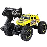 Welcome to the big world of toysProduct Name: Toy car,Remote Control carAge: 3+Car classification: Remote control car/Off-roadMaterial: Alloy shell+Electronic componentCar shell: PVCColor: YellowBody ratio: 1:14Frequency: 2.4GHZR/C distance:50m-70mUs...