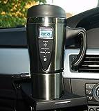 SMART - Tazza da viaggio in acciaio INOX, con sistema di riscaldamento a 12 V integrato