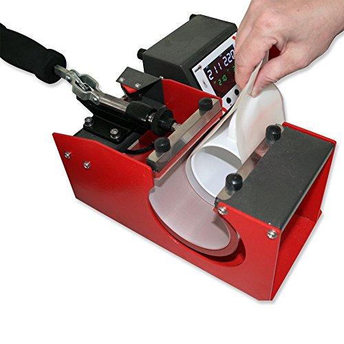 Tassenpresse Secabo TM1 – Profi-Transferpresse in Premium-Qualität - 4