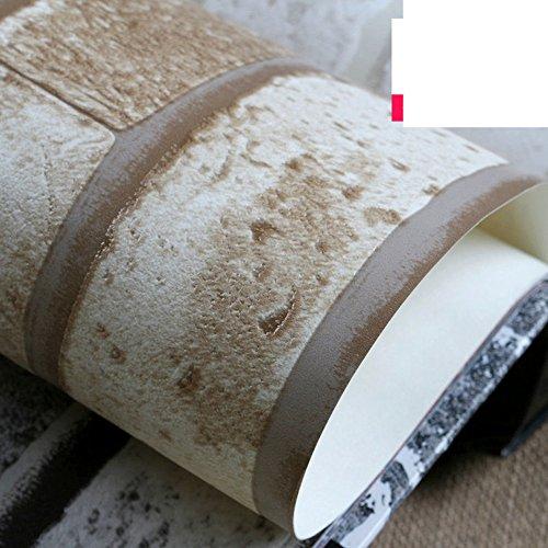GXX 3DSolido mattone mattone mattone del faux tappezzeria/ sala da