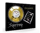 Supertramp Dreamer Framed Goldene Schallplatte Display Vinyl (C1)