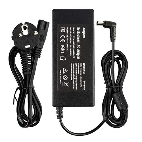 Sunydeal® Notebook Netzteil Laptop Ladekabel AC Adapter Laptop Ladegerät für Sony 19.5v 4.1/4.7A 90W Stecker 6.0mm x 4.4mm (kompatibel mit Allen Sony 19.5V 4.1 A 80W ; 19.5V 4.7A 90W)