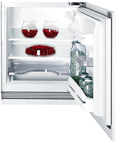 Indesit IN TS 1612 Kühlschränk / A+ / 81.5 cm / 125 kWh/Jahr / Kühlteil 123 Liter / Einbau-Unterbau Vollraum / Festtür-Technik / nur 0.342 kWh/24 Stunden / weiß