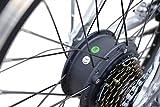 20 Zoll SWEMO Alu Klapp E-Bike / Pedelec SW200 Neu (Schwarz) -