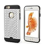 OKCS® Dot Case für das Apple iPhone 6 Plus / 6s Plus Schutzhülle Backcase Stoßfest Aluminium Dot...