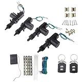 Sconosciuto Automobile Di Telecomando Del Sistema Di Sicurezza Chiusura Centralizzata Blocco Kit Keyless Entry