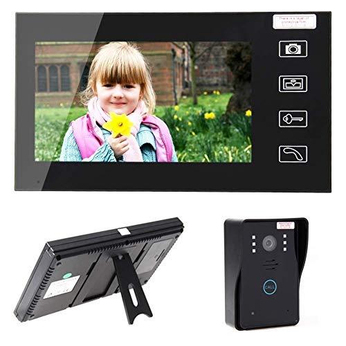 """SuRose Intelligente drahtlose Türklingel, 7\"""" TFT 2.4G Wireless Video-Türsprechanlage Intercom Türklingel, Home"""