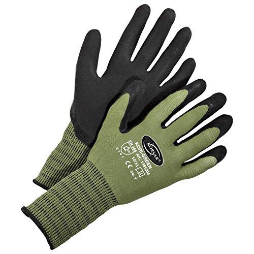 Schutzhandschuh Baugewerbehandschuh Handschuh Kori-Green grün-schwarz - Größe 10