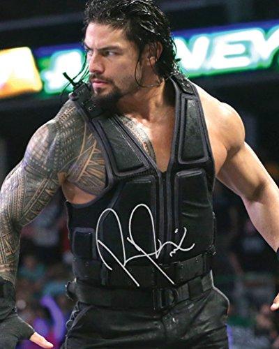 römischen herrscht WWE # 210x 8Lab Qualität unterzeichnet Foto Print