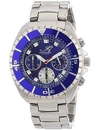 Ingraham Herren-Armbanduhr XL Syracuse Chronograph Quarz Edelstahl IG SYRA.1.611155