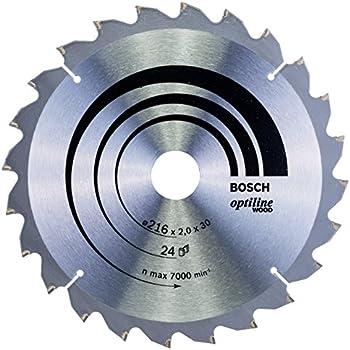 Lame de scie circulaire Optiline Wood pour table de scies circulaires 315 x 30 x 3,2 mm 48