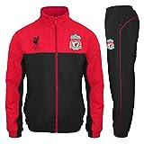 Liverpool FC - Herren Trainingsanzug - Jacke & Hose - Offizielles Merchandise - Geschenk für Fußballfans - Rot - M