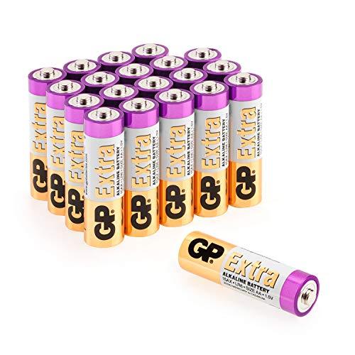 tterien AA Mignon 20 Stück Vorrats-Pack, ideal für die Stromversorgung von Geräten des täglichen Bedarfs (Briefkasten-geeignete Verpackung) ()