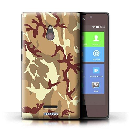 Kobalt® Imprimé Etui / Coque pour Nokia XL / Rose 3 conception / Série Armée/Camouflage Marron 4