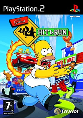 The Simpsons: Hit & Run (PS2) by Sierra