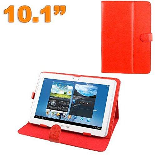 protezione tablet 10.1 YONIS Custodia Tablet 10.1Pollici Protezione Universale Similpelle Rosso