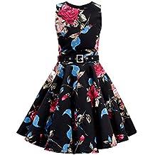 BlackButterfly Niñas 'Audrey' Vestido Vintage Años 50 Joy