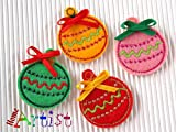 Weihnachtsbaumkugel Haarspange zum auswählen