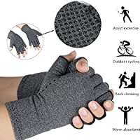 enshey anti-arthritis Kompression Handschuhe für Damen Herren, Kompression Therapie und Wärme zu erhöhen Durchblutung... preisvergleich bei billige-tabletten.eu