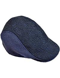 Berretto Unisex Cappello Invernale da Uomo di Berretto Vintage e Berretto da  Pescatore di Lana Scura b3ce50293e93