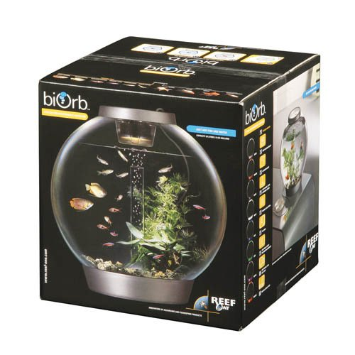 Silver 30 Litre biOrb Classic with Tropical Heater Pack
