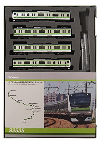 TOMIX Spur N 92535 E233 6000-basierte S-Bahn (Yokohama Line) Basis-Set (4 Autos) -