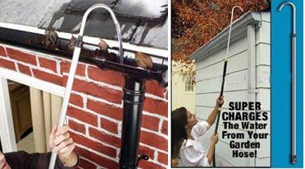 gutter-blaster-extendable-garden-hose-attachment-cleans-wheels-gutters-waters-flowerbeds