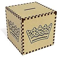 Preisvergleich für Azeeda Groß 'Einfache Krone' Sparbüchse / Spardose (MB00050412)