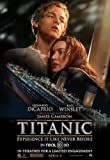 TITANIC 3D Beidseitige Filmplakat ADVANCE Style B (Ship) Poster (2012) (Leonardo DiCaprio, Kate Winslet, Billy Zane) ORIGINAL-KINOplakat (69cm x 102cm)