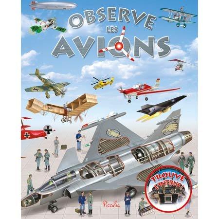 Observe et trouve les avions