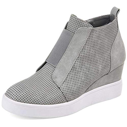 Women's heel wedge shoes