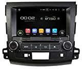 Sunshine Fly 8 Zoll Android 7.1 Quad core 1024 * 600 Kapazitiver Touchscreen 2 DIN Auto DVD GPS Radio Stereo Für Mitsubishi Outlander 2006~2012 Peugeot 4007 2007-2012 GPS Autoradio DVD Player Bluetooth Hotspot Wifi 3G SWC Unterstützung Rockford Soundsystem