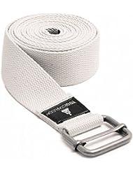 Yogistar Cintura Yoga Yogibelt 260, Bianco (Weiß),