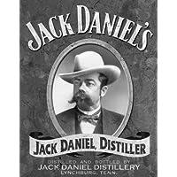 Grande Jack Daniels Whisky verticale vintage metallo targa da parete in latta, 40x 311622