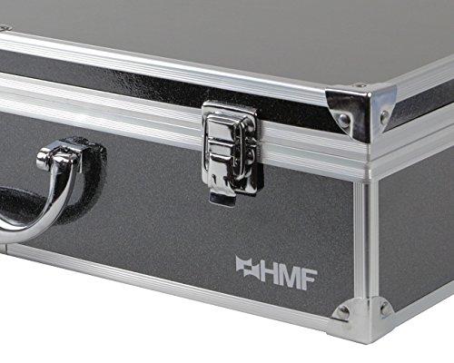 HMF 18301-02 Transportkoffer, Koffer passend für X5C , X5SC , X5 Syma Drohne, bis zu 5 Akkus, 42,5 x 33,5 x 11,5 cm, schwarz - 5