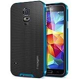 Galaxy S5 Case, Spigen Neo Hybrid Case for Galaxy S5 - Electric Blue (SGP10776)