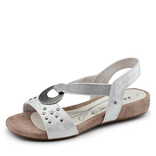 JANA Sandale Sohuto Blanc Blanc