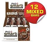 PHD Nutrition SMART BARRA Multicolore SAPORI 12 x 64G - ALTO CONTENUTO PROTEINE BARRE