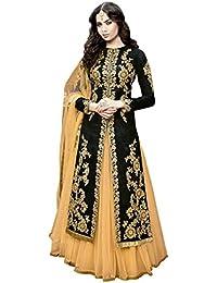Blacks Women s Ethnic Gowns  Buy Blacks Women s Ethnic Gowns online ... 2dd89383f