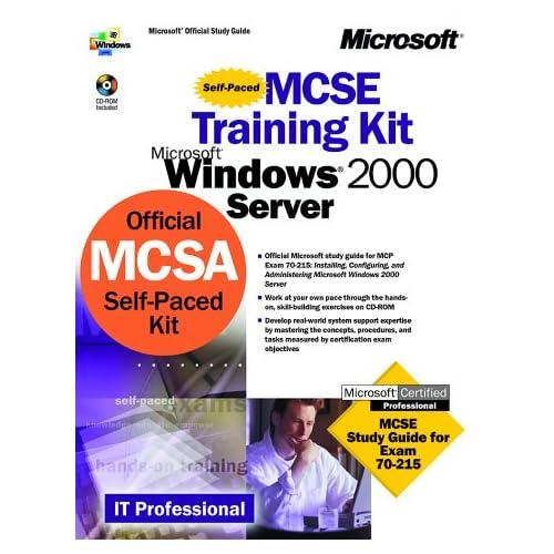 MCSE Training Kit Microsoft Windows 2000 Server (CD-ROM Included)