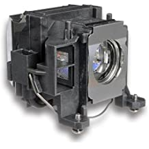 Alda PQ Original, Lámpara de proyector para EPSON PowerLite 1735W Proyectores, lámpara de marca con PRO-G6s viviendas