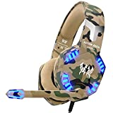 VersionTECH. Gaming headset for PS4 Xbox One PC Headphones...