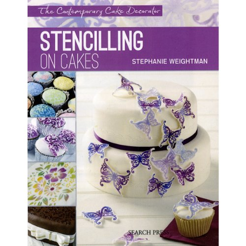 search-press-books-stenciling-on-cakes