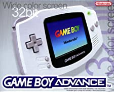 Game Boy Advance Konsole White
