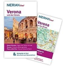 Verona und das Veneto: Mit Kartenatlas im Buch und Extra-Karte zum Herausnehmen (MERIAN live)
