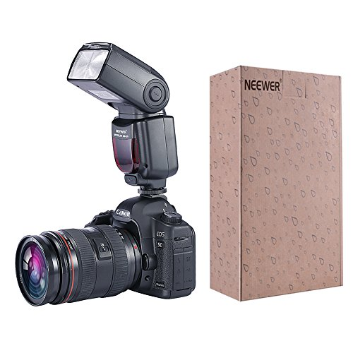 Best Price Neewer® PRO NW670 E-TTL Photo Flash Kit for CANON Rebel T5i T4i T3i T3 T2i T1i XSi XTi SL1, EOS 700D 650D 600D 1100D 550D 500D 450D 400D 100D 300D 60D 70D DSLR Cameras, Canon EOS M Compact Cameras – Includes: 2 Neewer Auto-Focus Flash with LCD Screen + 2.4 GHz Wireless Trigger (1 Transmitter, 2 Receivers) + 2 Cables(C1-Cord + C3-Cord Cables) + 2 Hard & Soft Flash Diffuser + 2 Lens Cap Holder on Line